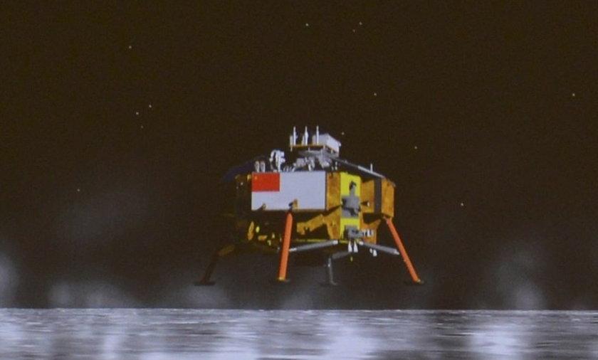 Chińczycy wylądowali na Księżycu