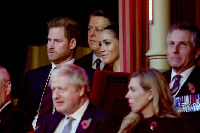Megan i  Hari u Londonu