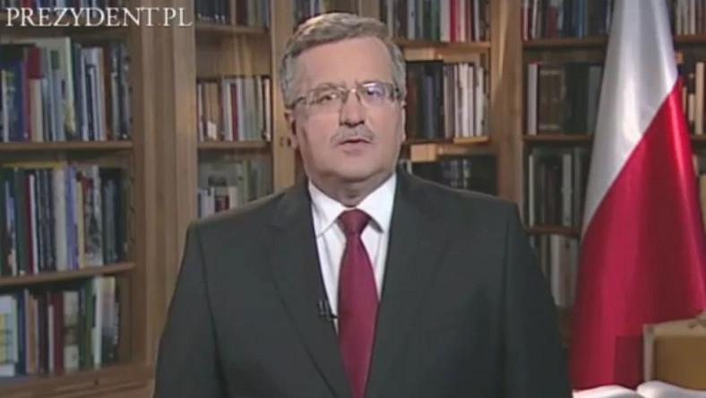 Prezydent Bronisław Komorowski zachęca do udziału w wyborach