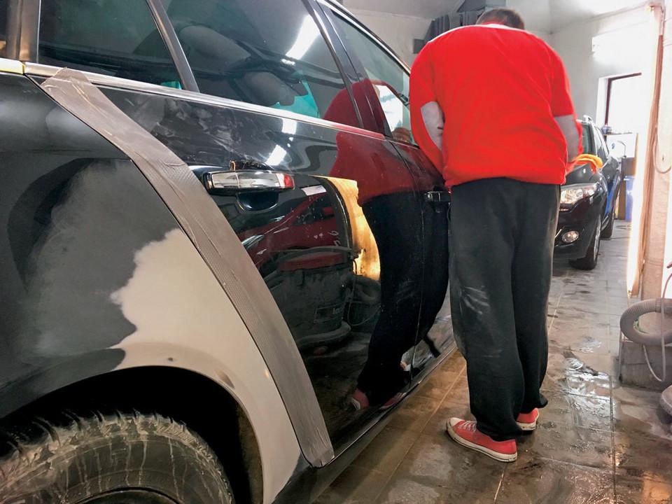 Большой ремонт кузова и покраски
