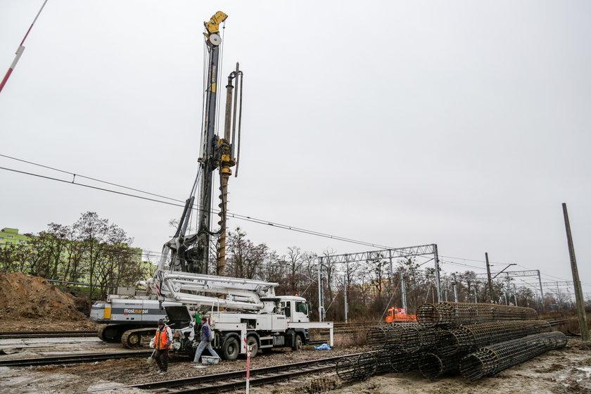 Budowa nowego wiaduktu na Chociebuskiej