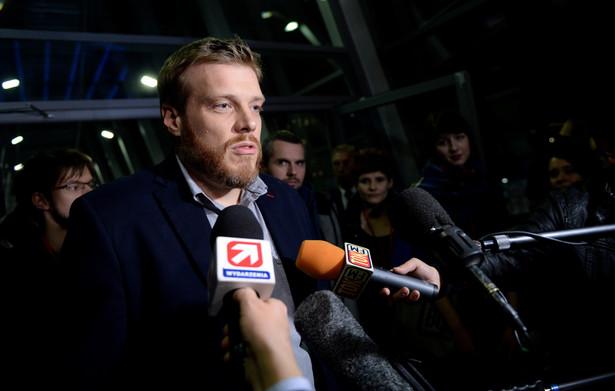 Adrian Zandberg z Partii Razem