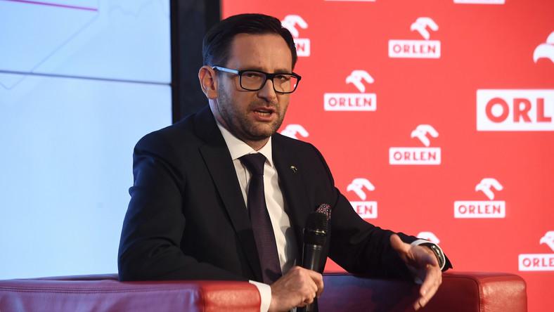 Prezes PKN Orlen Daniel Obajtek