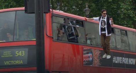 Dajnamo se levitirajući provozao Londonom
