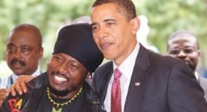 Blakk Rasta, Barack Obama and late Boffoe-Bonnie
