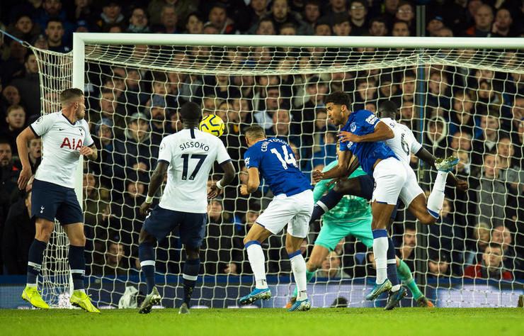 Detalj sa meča Everton - Totenhem