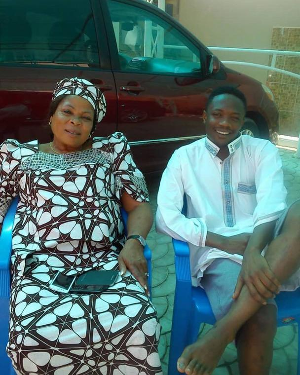 Ahmed Musa has lost his mother Sarah Moses