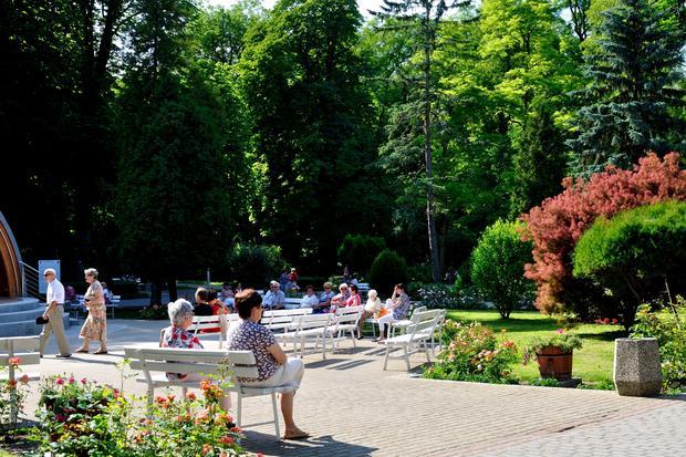 Park Zdrojowy, Busko-Zdrój
