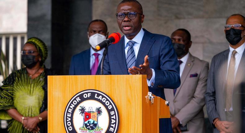 Lagos State governor, Babajide Sanwo-Olu [LASG]