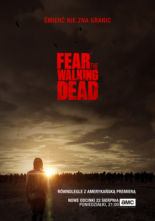 """Fear the Walking Dead"" - plakat"