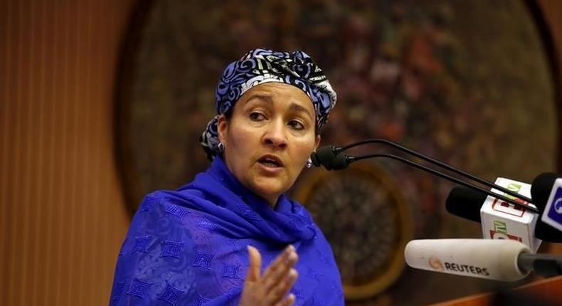 Nigeria's Minister of Environment Amina Mohammed has been appointed as the deputy secretary-general of the United Nations. REUTERS/Afolabi Sotunde