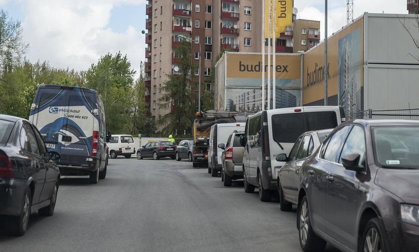 Zastawiona ulica