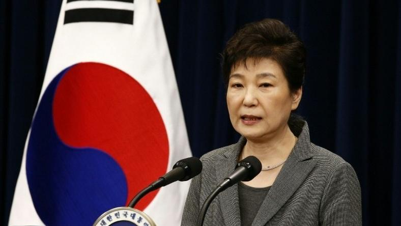 South Korean President Park Geun-Hye was impeached by parliament over a corruption scandal