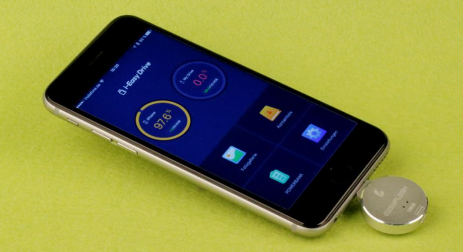 Easyflash im Test: Mehr Speicher für das iPhone