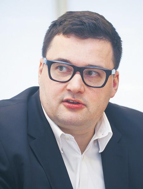 Marcin Giżycki wiceprezes ING Banku Śląskiego