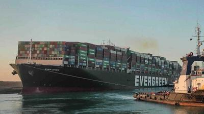 Vessel that blocked Suez Canal finally arrives in Rotterdam
