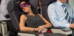 Pasażerka zasnęła w trakcie lotu. Takiej pobudki się nie spodziewała