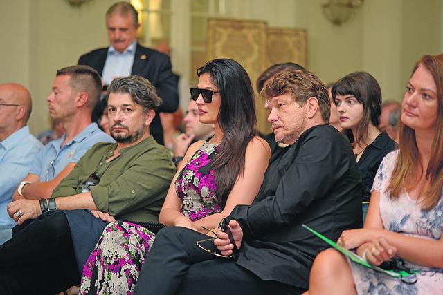 Bjelogrlić na predstavljanju Festivala italijanskog filma u ambasadi Italije