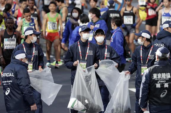 Detalj s aovonedeljnog maratona u Tokiju