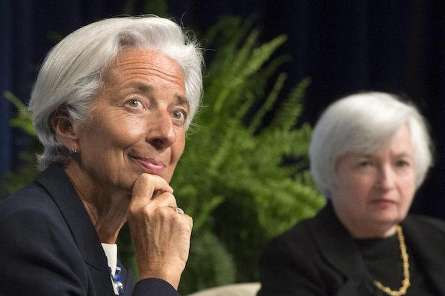 Christine Lagarde Janet Yellen