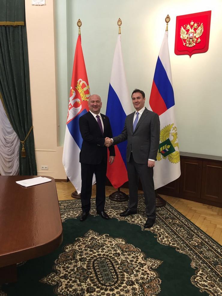 Nenad Popovic. hrana, rusija, Tanjug, Ministarstvo za inovacije i tehnoloski razvoj