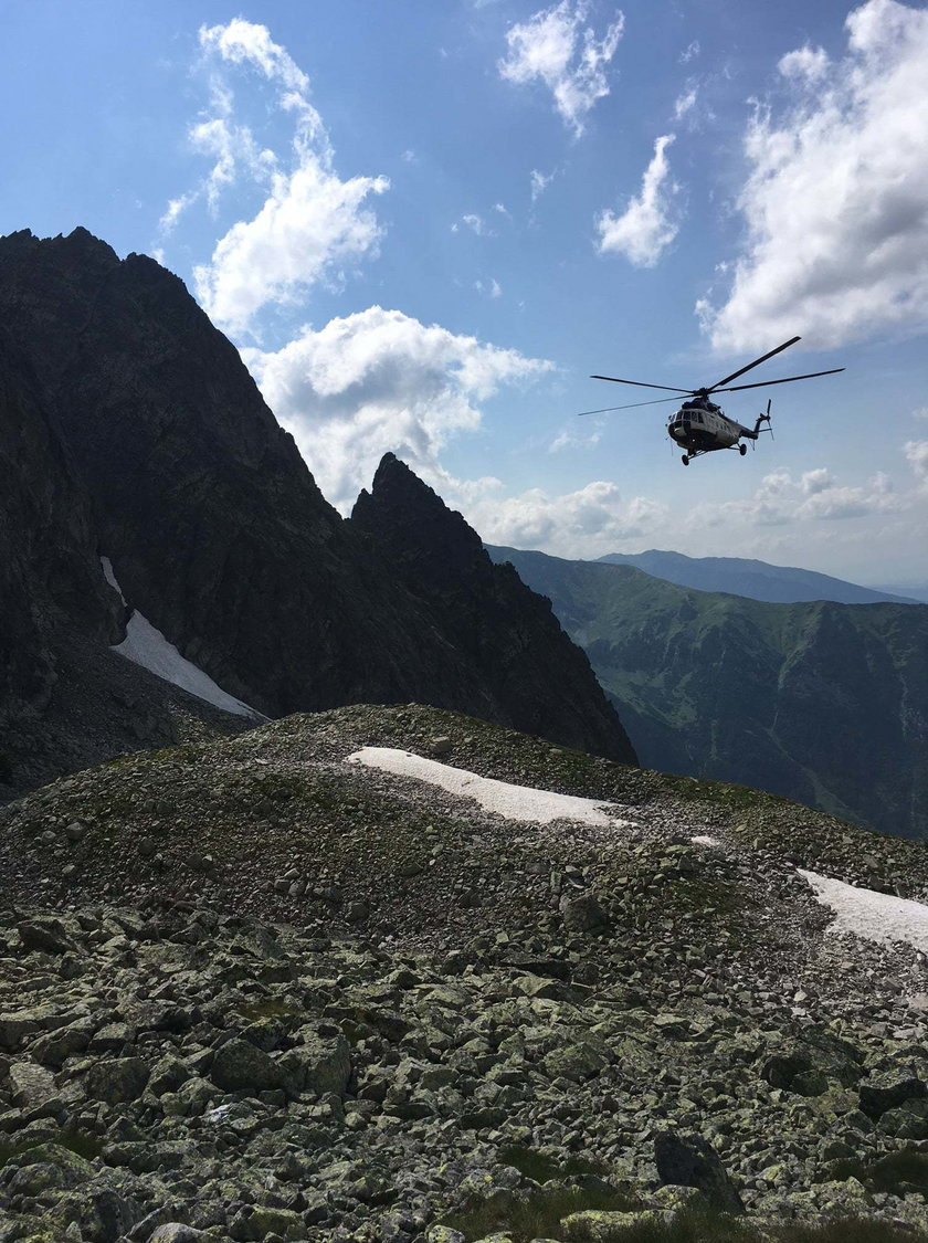 Słowacja. Poszukiwany 24-letni turysta z Polski zginął w Tatrach