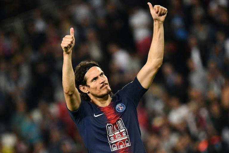 Edinson Cavani also returned for Paris Saint-Germain, reuniting the French champions famed front three