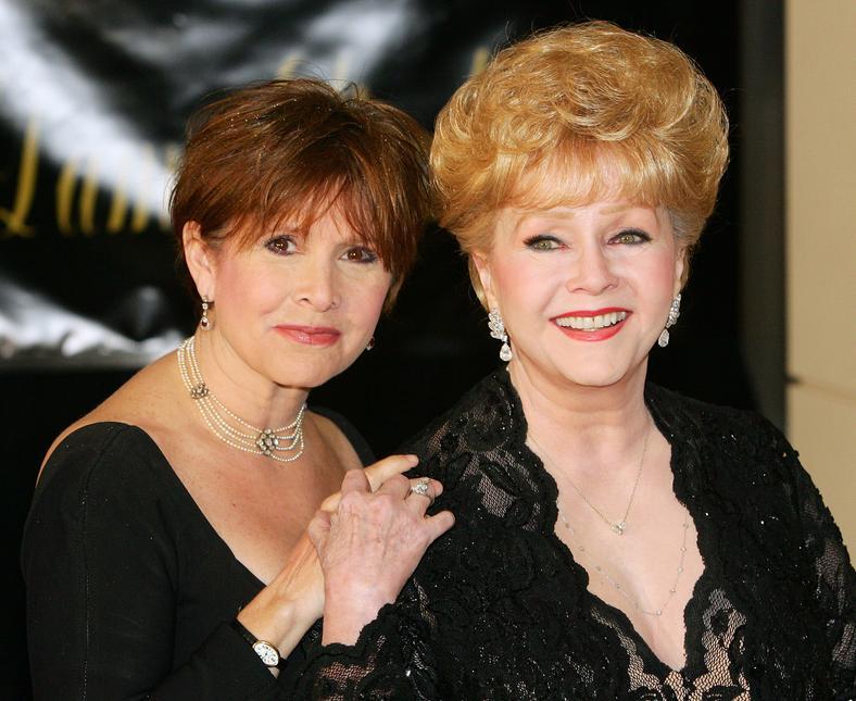 Debbie Reynolds i Carrie Fisher