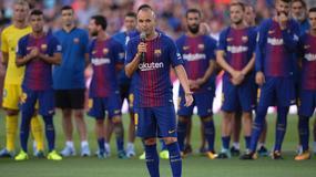 FC Barcelona zagra bez Andresa Iniesty w rewanżu z Realem Madryt