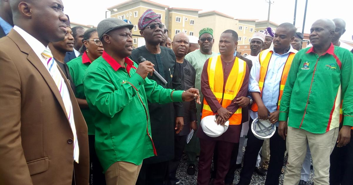 Sanwo-Olu inaugurates 492-unit Jakande Estate, to replace Egan wooden bridge - Pulse Nigeria