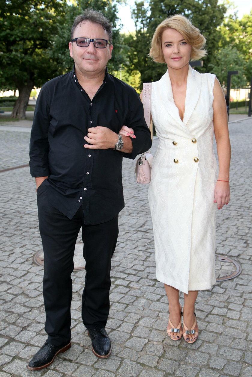 Zbigniew Zamachowski i Monika Zamachowska Richardson