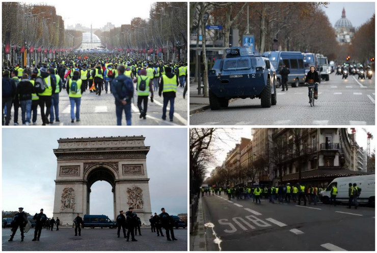 Francuska protesti žuti prsluci