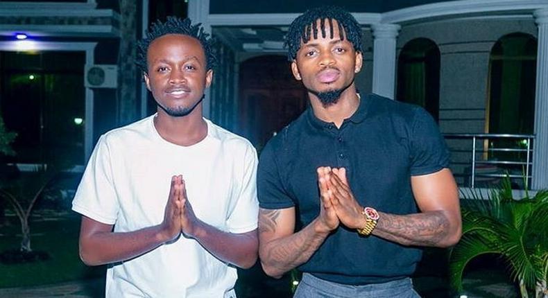 Bahati with Diamond