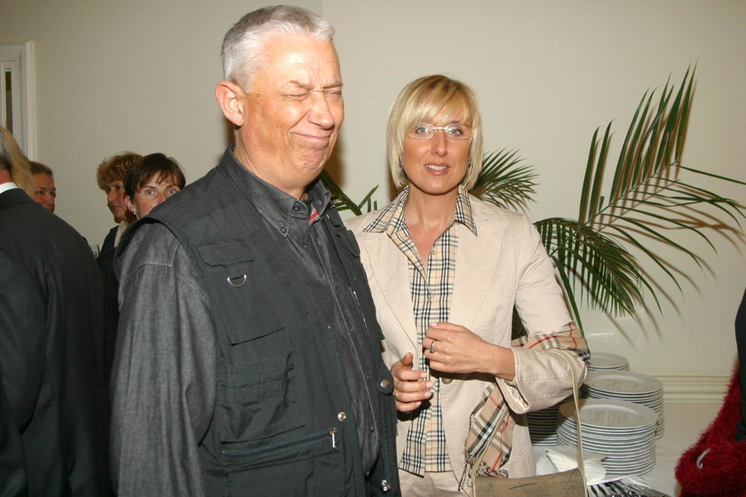 Agata Młynarska z Wojciechem Młynarskim