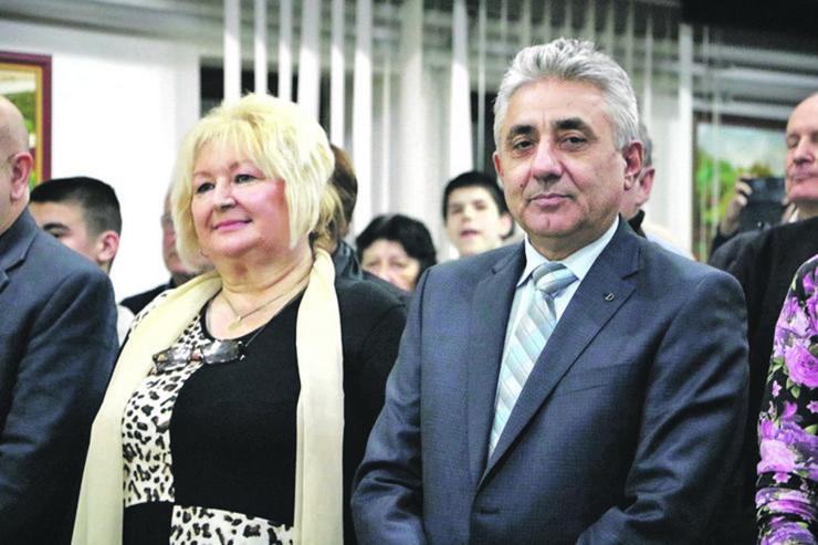 Predsednica opštine Grocka Živadinka Avramović i Dragoljub Simonović