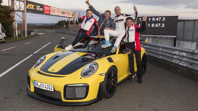 Porsche 911 GT2 RS – rekord na Nurburgringu