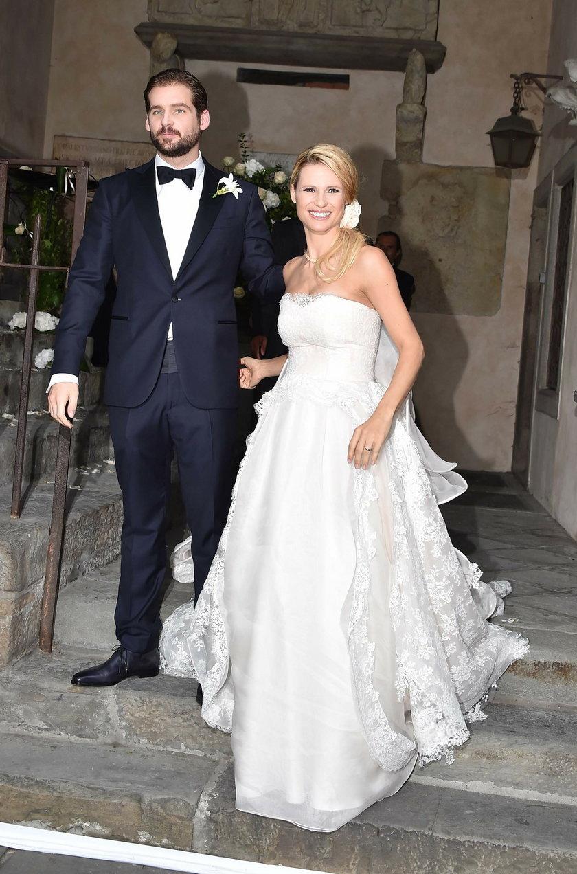 Michelle Hunziker i Tomaso Trussardi