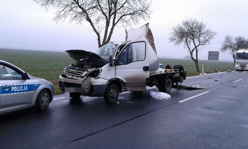 Tragiczny wypadek pod Brzegiem
