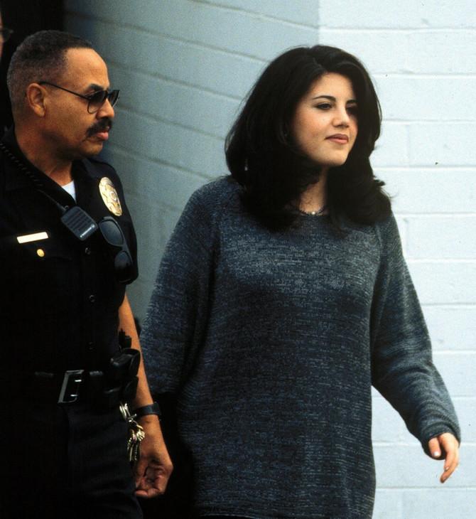 Monika Levinski na sudu 1998. godine