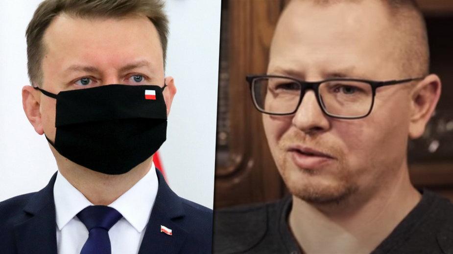 Minister Mariusz Błaszczak przegrał w sądzie z weteranem Marcinem Chłopeniukiem