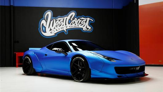 Ciekawostka z ogłoszenia: Ferrari 458 Liberty Walk Justina Biebera