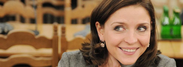 Joanna Mucha - minister sportu i turystyki