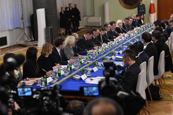Razgovori srpske i japanske delegacije