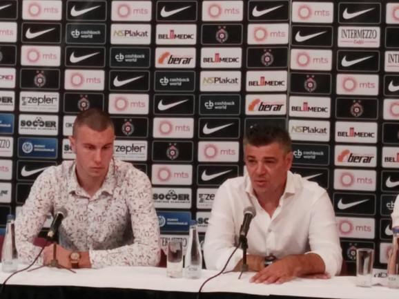 Savo Milosevic i Strahinja Pavlović