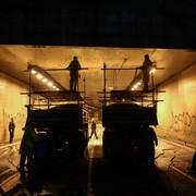 Radovi u Terazijskom tunelu