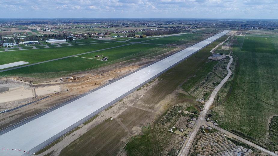 Budowa lotniska Warszawa - Radom