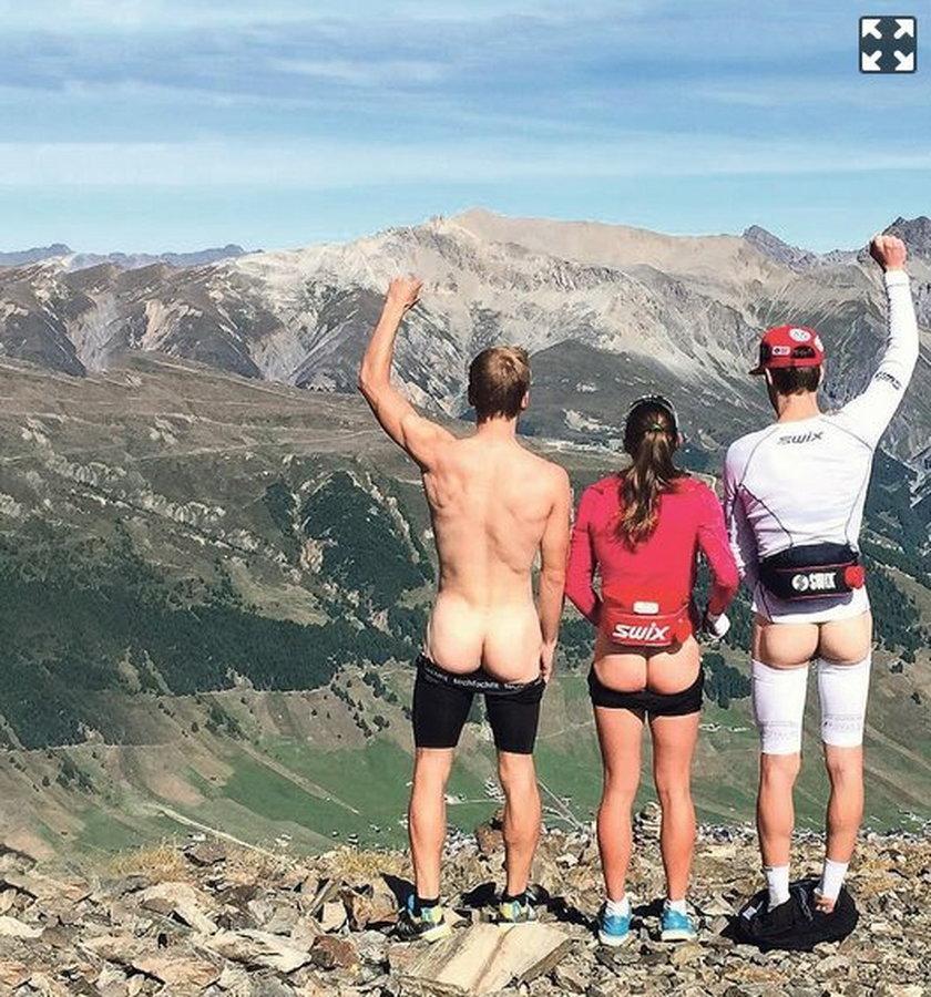 Nowa moda wśród sportowców. Wrzucają nagie zdjęcia!