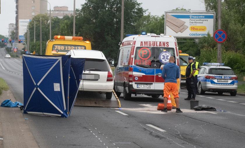 26-latka zginęła pod kołami rozpędzonego samochodu.