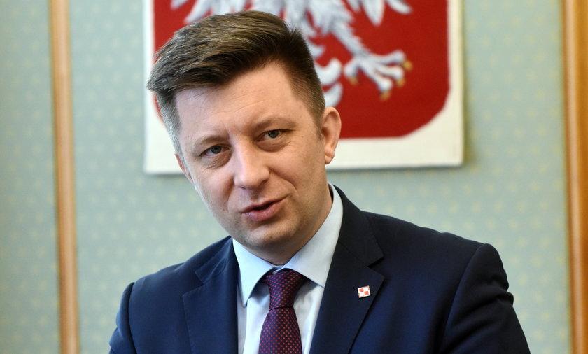 Michał Dworczyk odpowiedzialny za Narodowy Program Szczepień.
