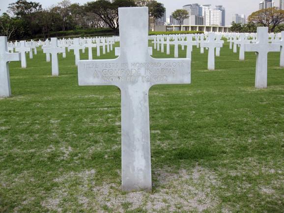Grob nepoznatog vojnika u kojem je bio sahranjen Ričard Marfi na Filipinima